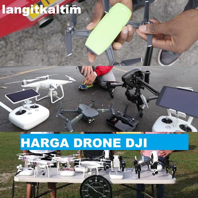 Harga Drone Merek DJI