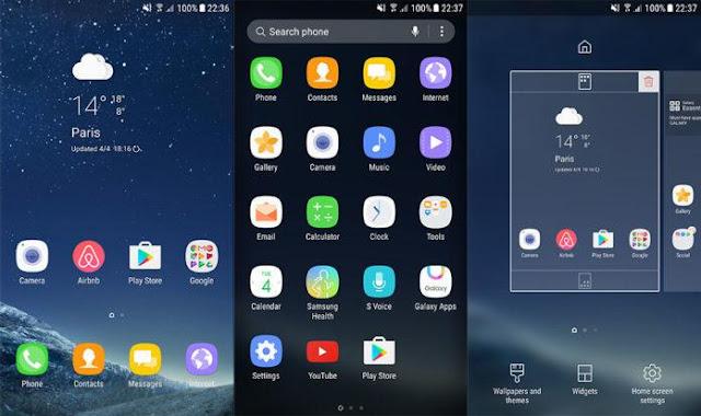 هاتفك غالاكسي بالكامل بجميع تطبيقاته
