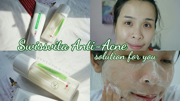 Swissvita Anti-Acne Solution from Allyoung