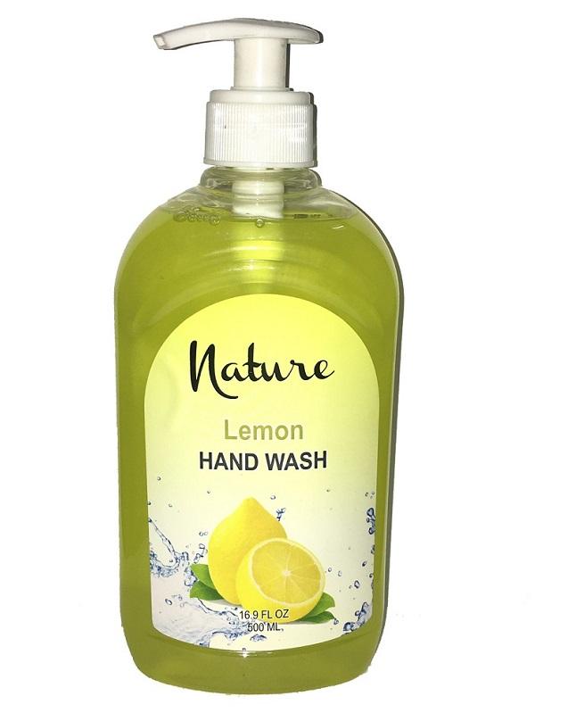 Nature Hand Wash Lemon 500 ML