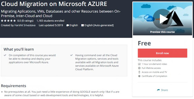 [100% Free] Cloud Migration on Microsoft AZURE