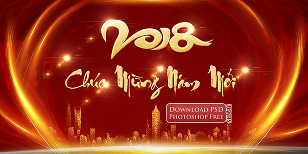 phong-nen-hien-dai-chuc-tet-mau-tuat-2018-city-new-year-psd-1199