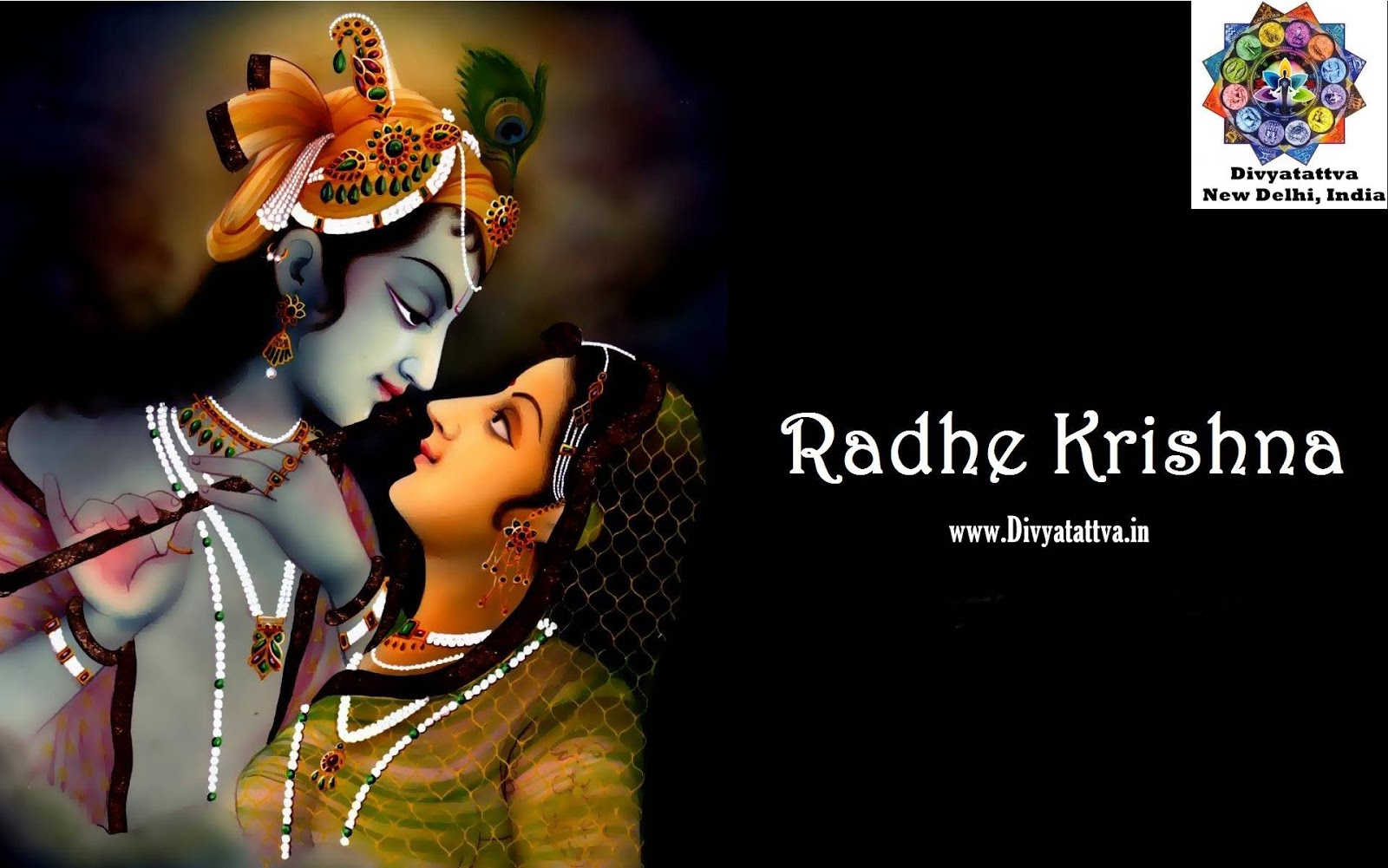 Happy Janmashtami Images radha krishna hindu god spiritual wallpaper backgrounds www.divyatattva.in