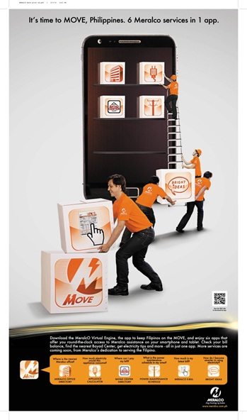 Meralco launched Virtual Engine (MOVE) app