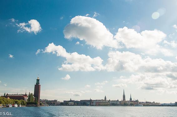 Estocolmo y su ayuntamiento. Palacio Drottningholm