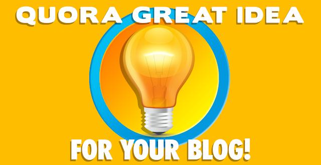 quora domande risposte blogging blogger blog