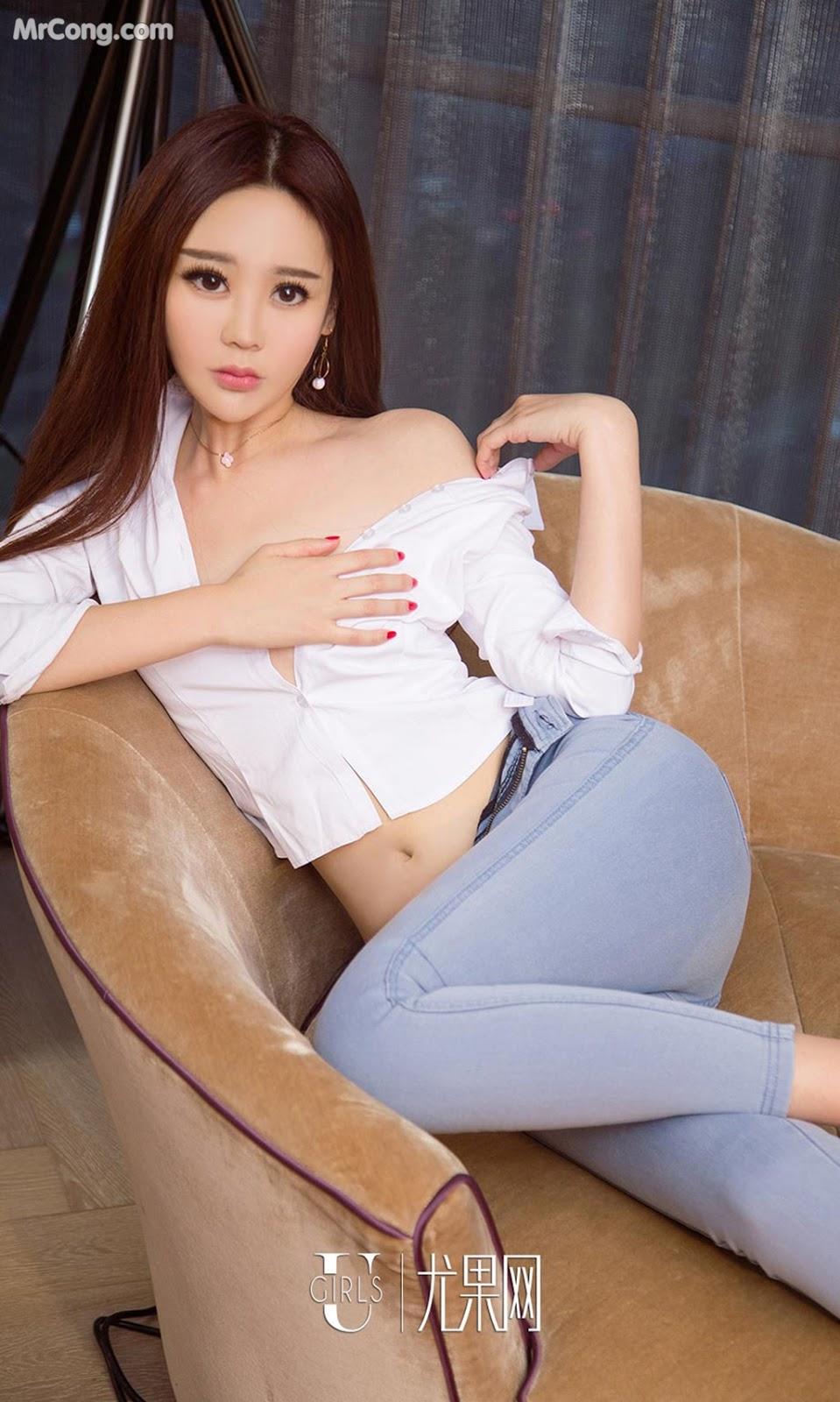 Image UGIRLS-Ai-You-Wu-App-No.952-Wen-Rou-MrCong.com-007 in post UGIRLS – Ai You Wu App No.952: Người mẫu Wen Rou (温柔) (40 ảnh)