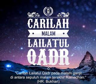 malam lailatul qadar ramadhan 2017