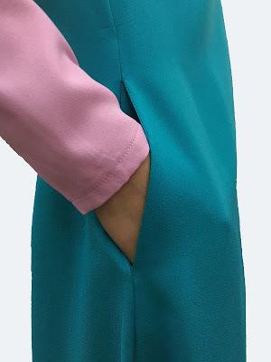 pocket jubah