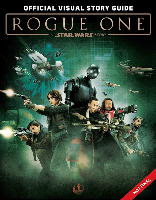 Обкладинка Rogue One: A Star Wars Story: The Official Visual Story Guide