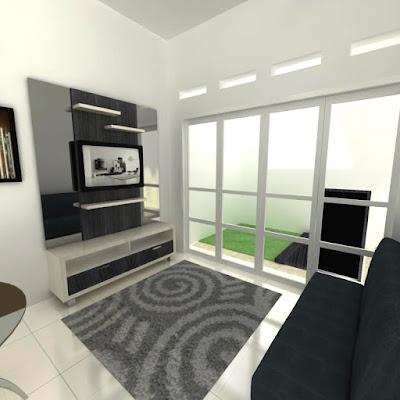 interior apartemen paket simple