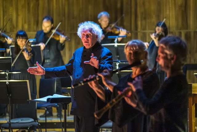 Bach: St John Passion - Sir Simon Rattle, Orchestra of the Age of Enlightenment - Royal Festival Hall (Photo Tristram Kenton)