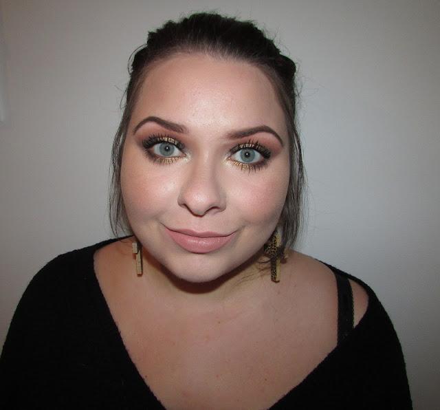 GOŚCINNIE U MNIE: Make-up Dominika - Jesienny Glam (+ Pielęgnacja twarzy)
