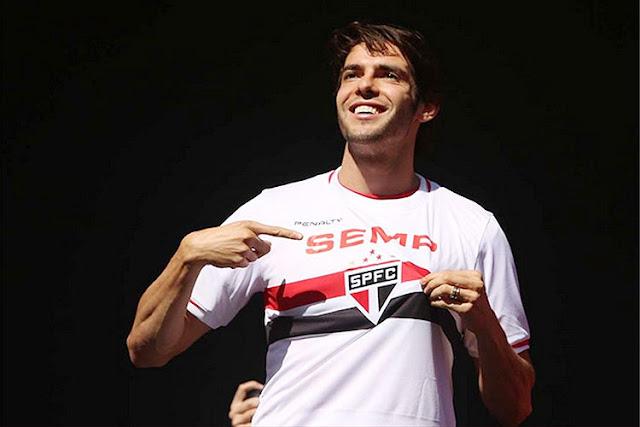 Jogador Kaká, do Orlando City  é o muso da semana