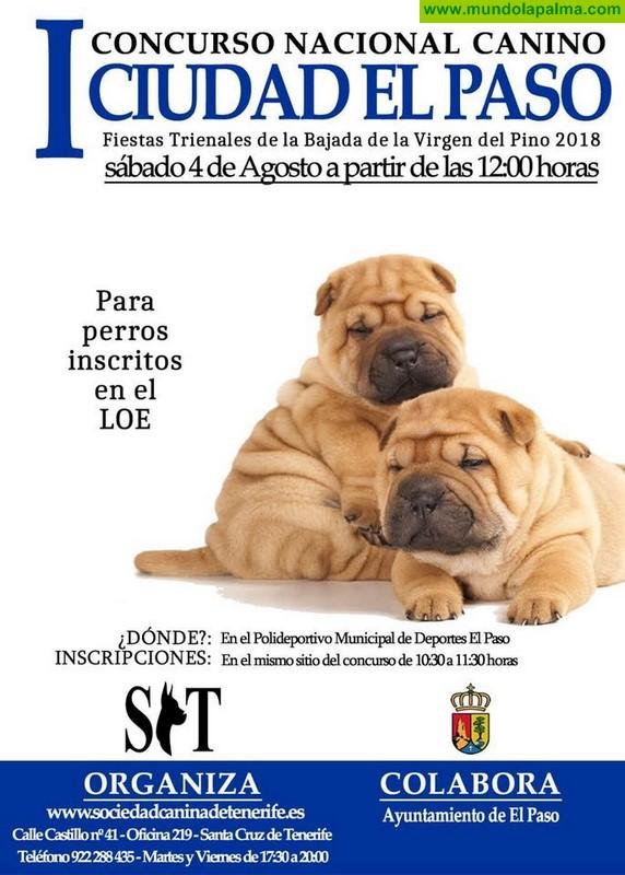 I Concurso Nacional Canino Ciudad El Paso