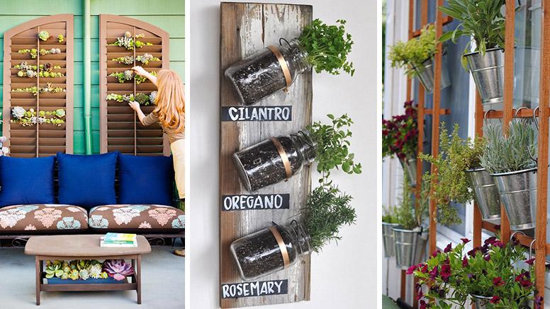 8 ideas para jardines en espacios peque os diy latino for Jardines para espacios pequenos