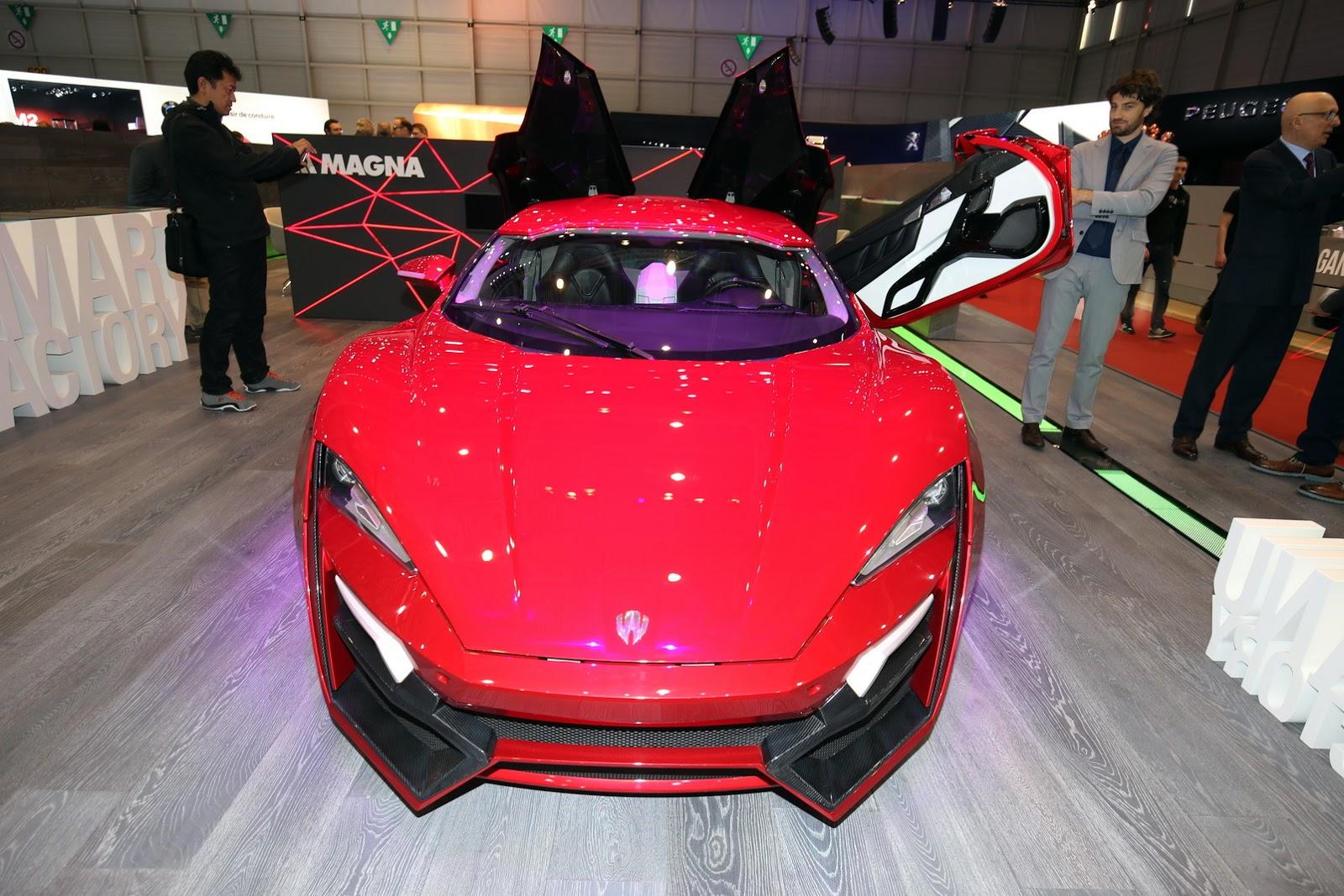 Siêu xe Lykan Hypersport lặng lẽ xuất hiện tại Geneva Motor Show
