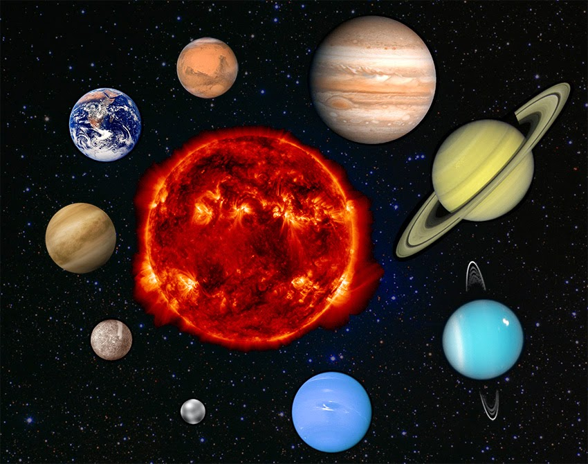 the colors of the planets in solar system - photo #4