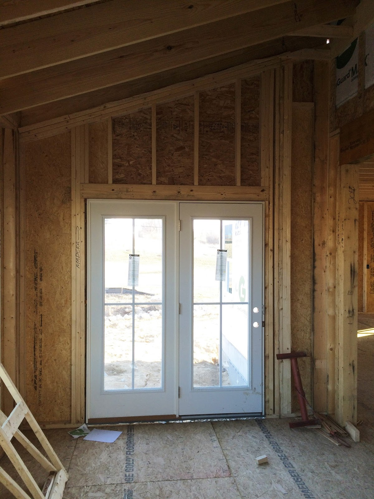 Lighting Basement Washroom Stairs: Ryan Homes Milan: New Home Construction Experience