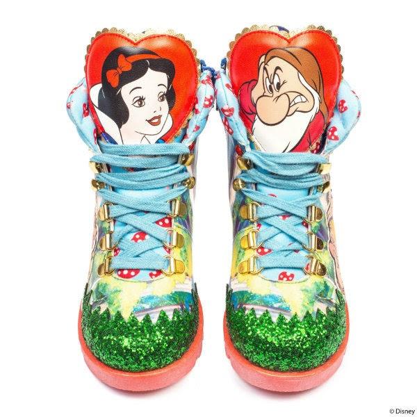 5640aa6d1f303 Pink Haired Princess: Irregular Choice Disney Princesses: Snow White ...