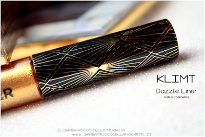 KLIMT recensione eyeliner gold  goldust collection Nabla cosmetics
