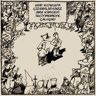 © Sansür ve ifade özgürlüğü - Loup (Fransa) / Barış için karikatür (Cartooning for Peace).