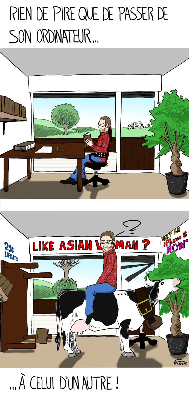 prêter son ordinateur