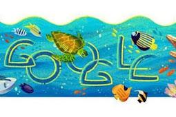 Google Doodle Rayakan Hari Jadi Taman Nasional Bunaken
