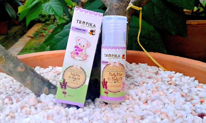 TROPIKA Baby Hair & Baby Oil Lavender