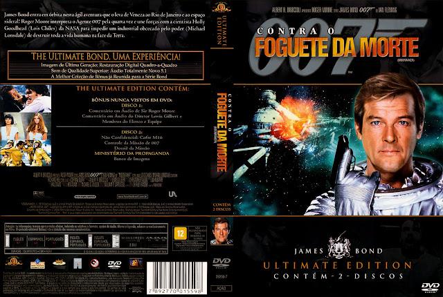 Capa DVD 007 Contra o Foguete da Morte