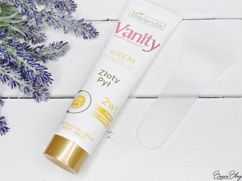 Krem do depilacji Bielenda Vanity Złoty Pył