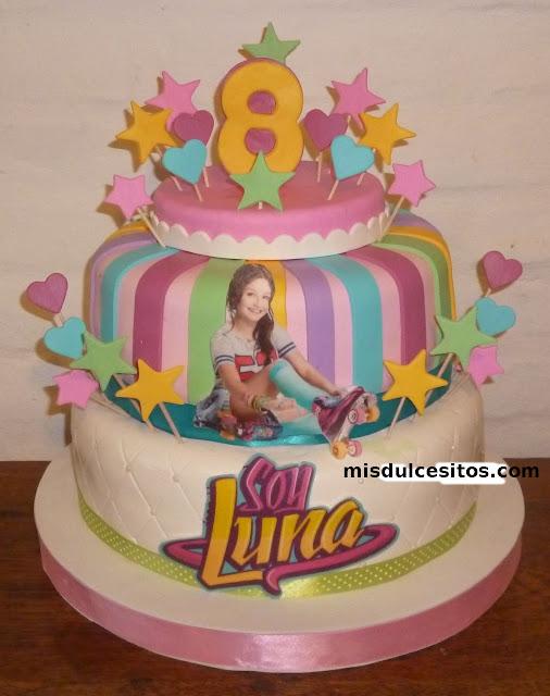 Tortas Soy Luna. Tortas cumpleaños infantiles. Venta de tortas en Lima, Perú.