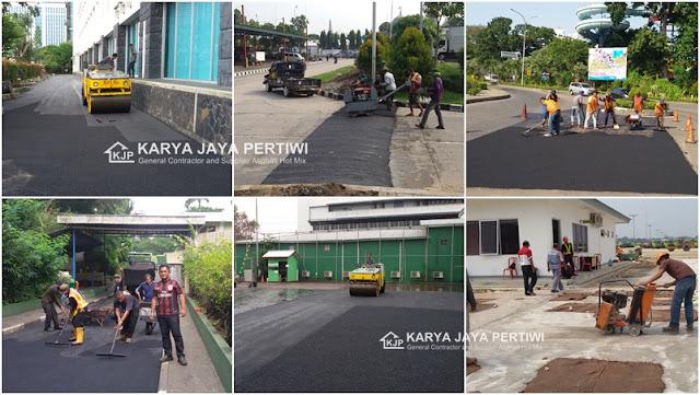 Jasa Aspal Hotmix, Jasa Pengaspalan Jalan  di wilayah Jakarta Bogor depok Tangerang Bekasi