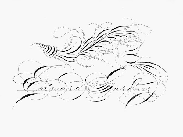 Beginner's Spencerian workshop with Master Penman Michael Sull