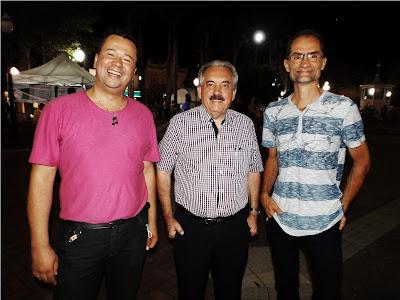 Marcos Tinarelli, Lino Tonsig e Pedro Bernabé - Blog do Asno