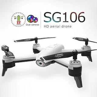 Spesifikasi Drone SG106 - OmahDrones