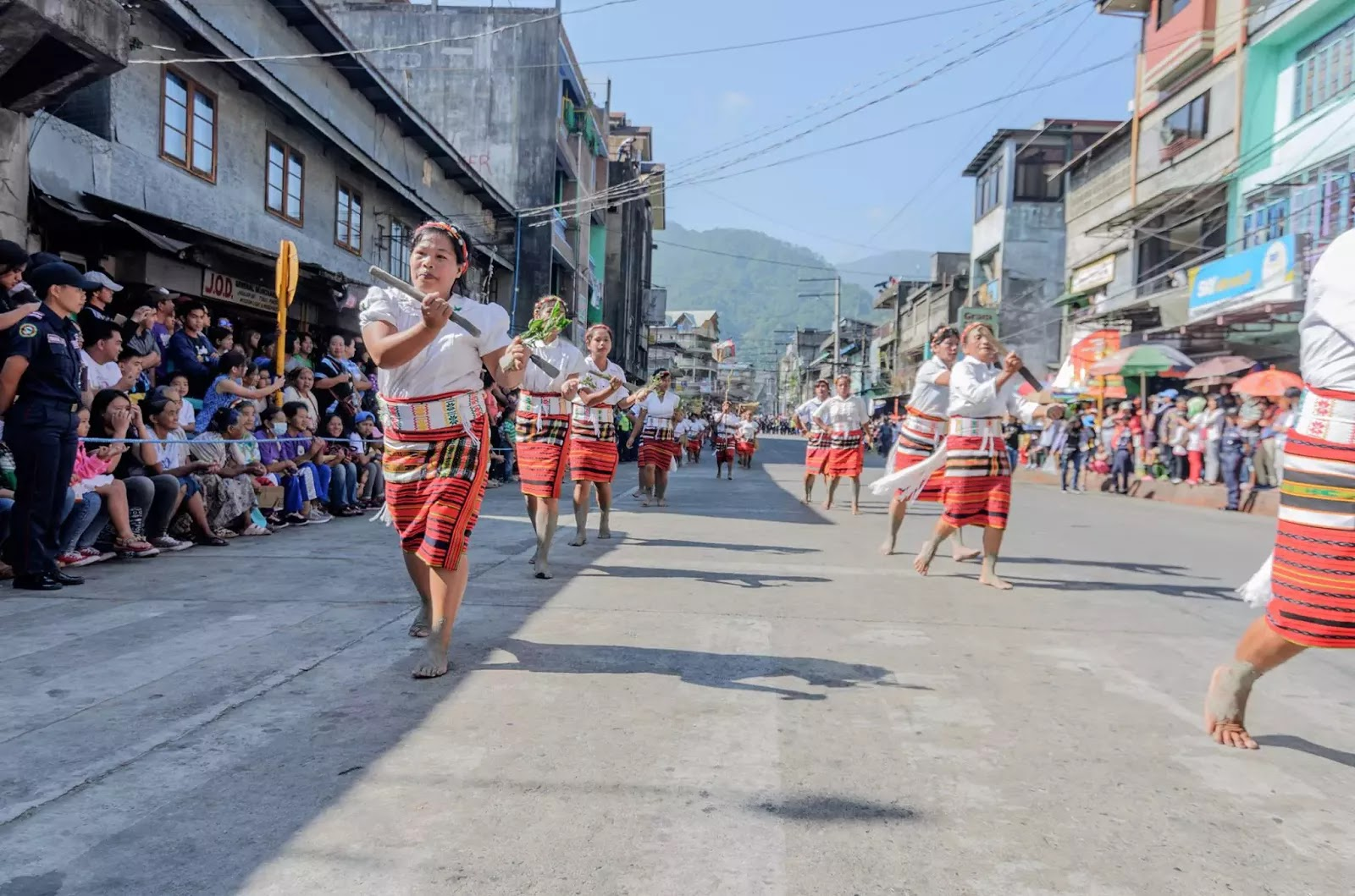 Bontoc Mountain Province 13th lang-Ay Festival Street Dancing