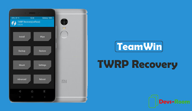 Cara Install TWRP Xiaomi Redmi 4A