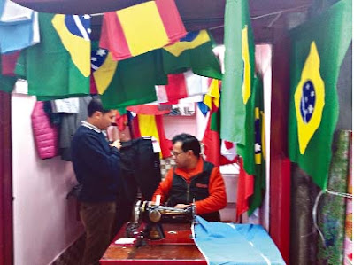 World Cup fever in Darjeeling