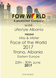Won By Albanian, To Be Hosted By Albania, Mister & Miss Face Of The World Pageant Set For Big Statement 4