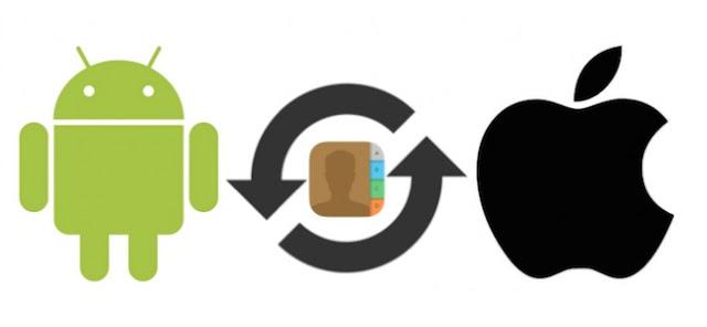 Mentransfer Kontak dari Android ke iPhone