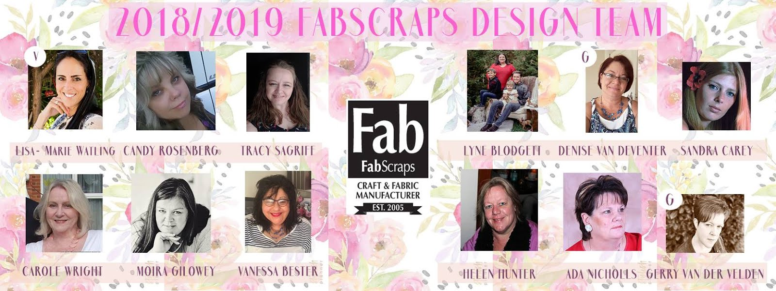 FABSCRAPS DESIGN TEAM 2018/2019