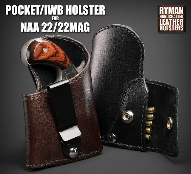Ryman Holsters' Photo Blog: IWB/Pocket Holster for NAA 22LR