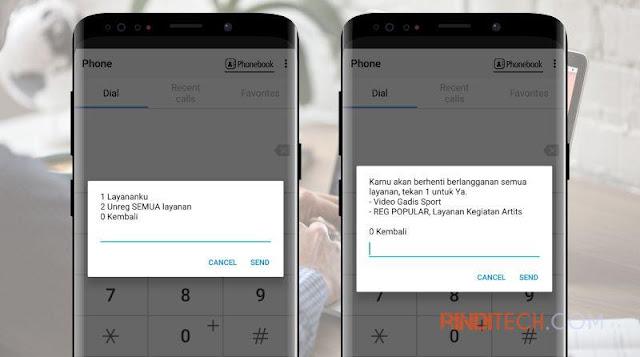 Cara UNREG SEMUA Layanan SMS Berlangganan yang Menguras Pulsa