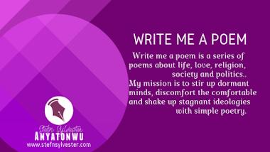 Write Me A Poem | Nigeria