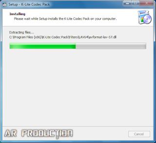 Tahap 9 Instalasi K-Lite Codec Pack Beserta Gambar