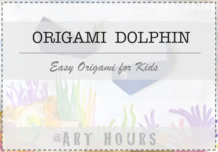 How to Make a Paper Dolphin Step by Step | Easy Origami Dolphin ... | 593x849