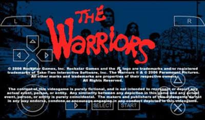 The Warriors PSP on Android Gratis Download PPSSPP Emulator Terbaru 2017