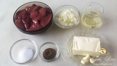 Patè facut in casa - etapa 1