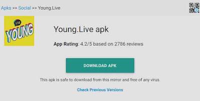 young live aplikasi nonton streaming dewasa gratis